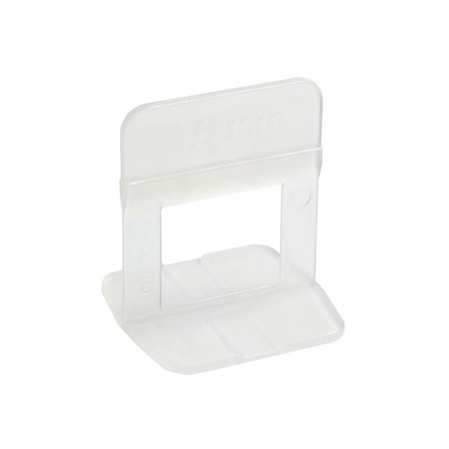 Espaçador de Plástico para Nivelamento 2mm Branco – Cortag - Santa Cruz Acabamentos