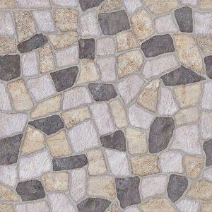 Piso Antideslizante Pedra Branco/Cinza HD 57084 57x57 Extra - Bellacer