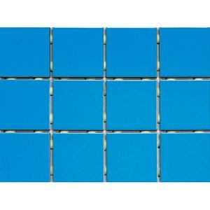 Piso Azul Capri Telado Antipichação 1045 10x10 Extra - Strufaldi