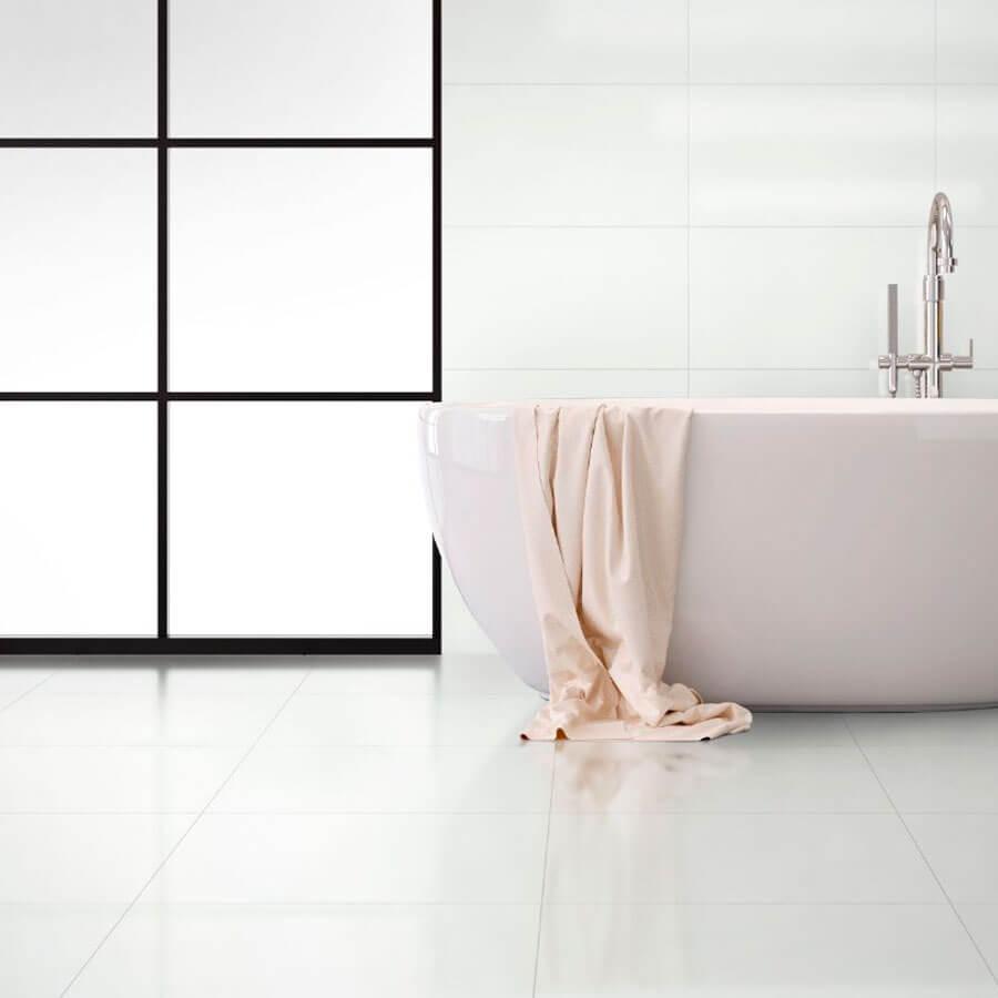 Piso Brilhante Bianco 769786 61×61 Extra – Triunfo - Santa Cruz Acabamentos