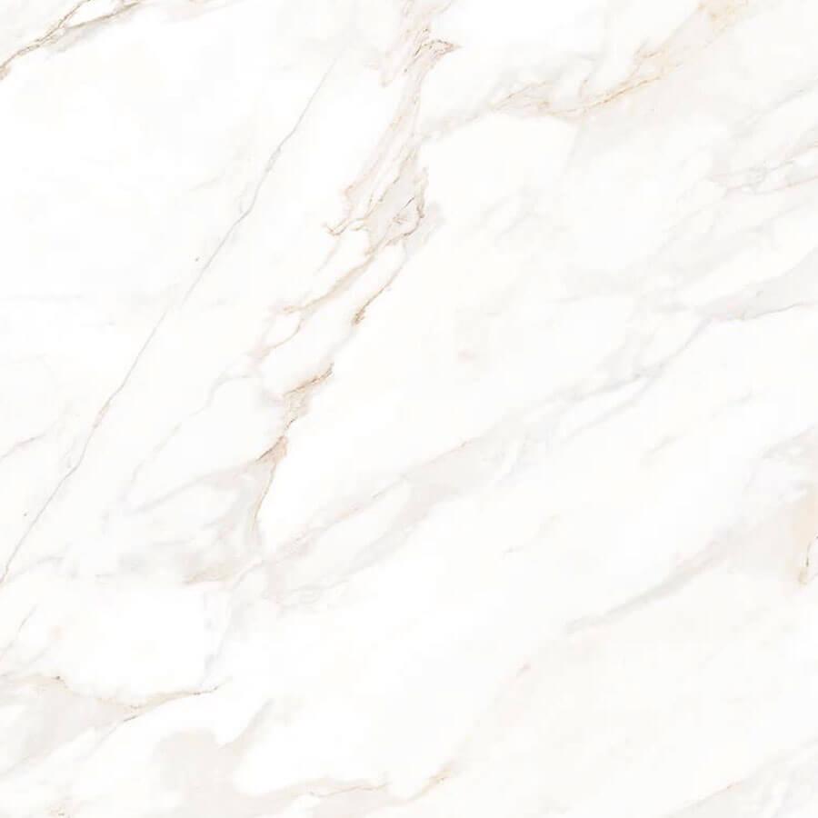 Piso Brilhante Calacata Bege 556004 56×56 Extra – Marmogres - Santa Cruz Acabamentos