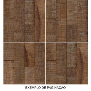Piso Cerâmico Confort Marrom 57x57 HD LF59615 - Lef Cerâmica