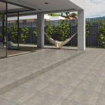 Porcelanato Acetinado Echeveria Matte Cinza PHD56630R 56×56 Extra – Incefra - Santa Cruz Acabamentos