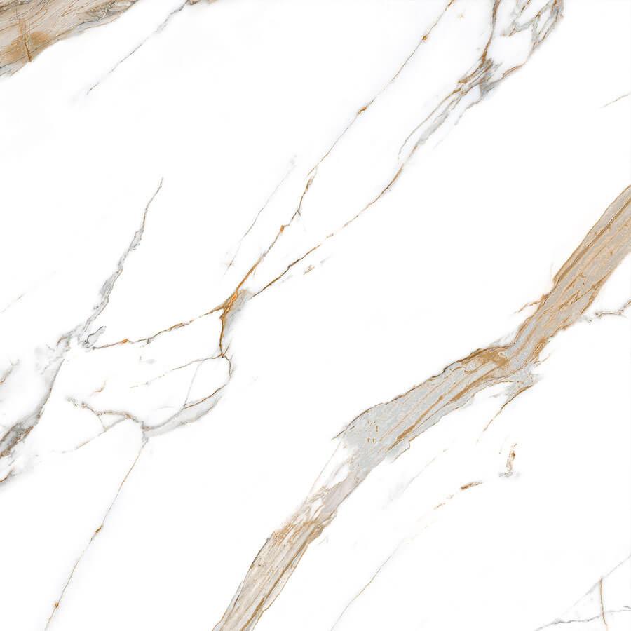 Porcelanato Acetinado Calacata Oro Satin 90×90 Extra – Biancogres - Santa Cruz Acabamentos