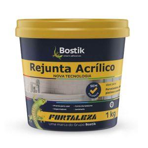 Rejunte Acrílico Interno/Externo Branco 1kg - Fortaleza