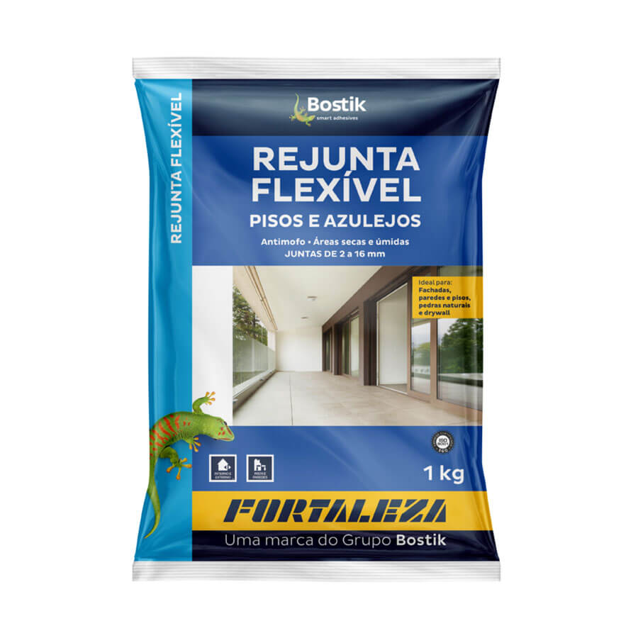 Rejunte Flexível Branco 1kg – Fortaleza - Santa Cruz Acabamentos