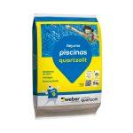 Rejunte para Piscina 5kg Branco – Quartzolit - Santa Cruz Acabamentos