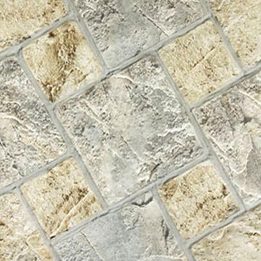 Piso Acetinado HD-55800 55x55cm Cinza e Bege – Triunfo - Santa Cruz Acabamentos