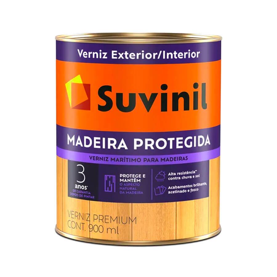 Verniz Madeira Protegida Brilhante 3,6L – Suvinil - Santa Cruz Acabamentos