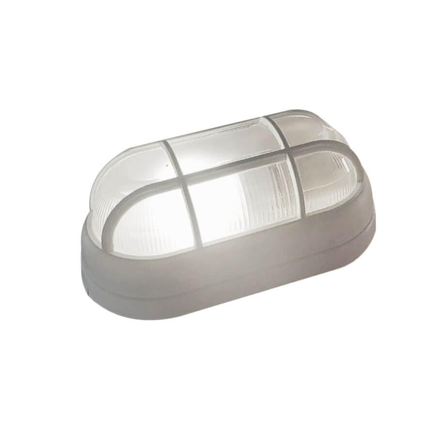 Arandela Tartaruga para 1 Lâmpada E27 4015 Branca – Ideal - Santa Cruz Acabamentos