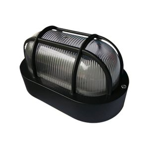 Arandela Tartaruga para 1 Lâmpada E27 4015 Preta - Ideal