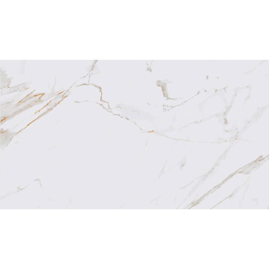 Porcelanato Marmo Calacata Bianco 52,7×105 Extra – Biancogres - Santa Cruz Acabamentos