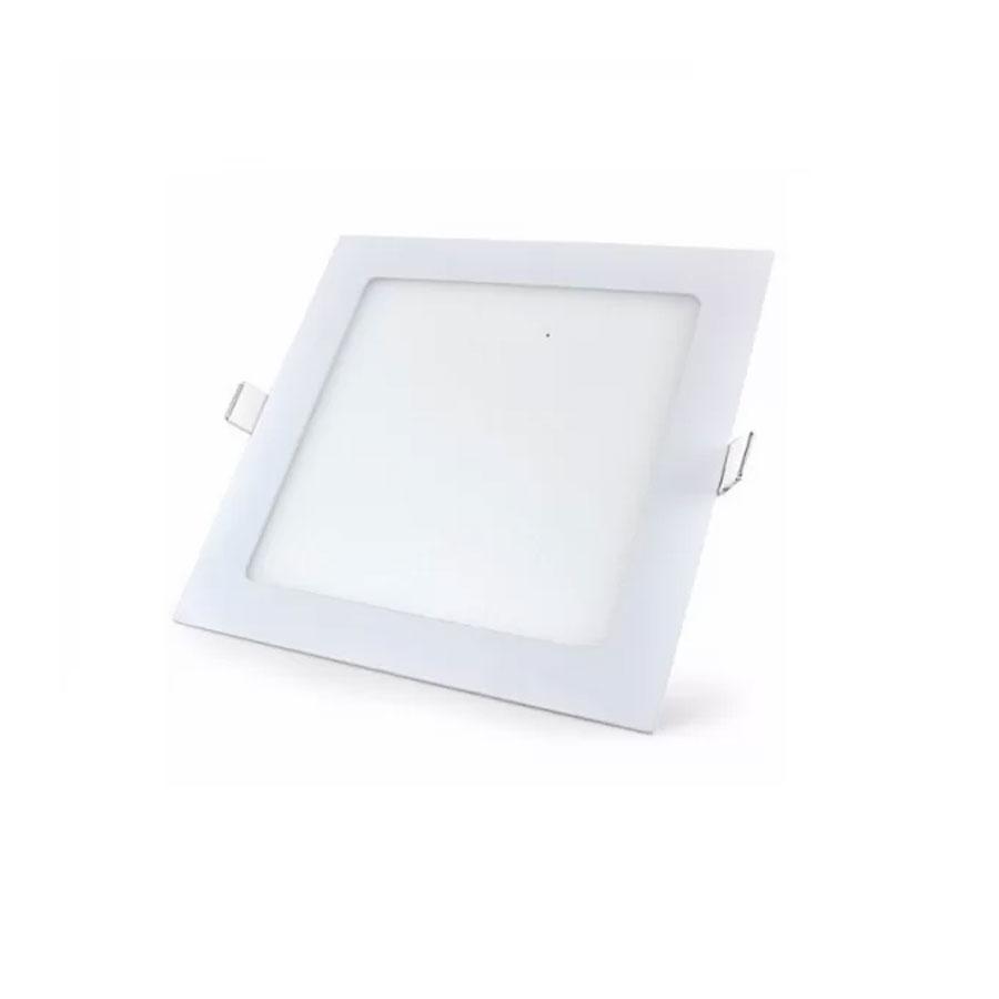 Painel LED Branco LUX Quadrado 3W Embutir Branco 18105 – Taschibra - Santa Cruz Acabamentos