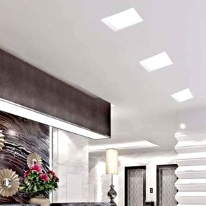 Painel LED Branco LUX Quadrado 3W Embutir Branco 18105 - Taschibra