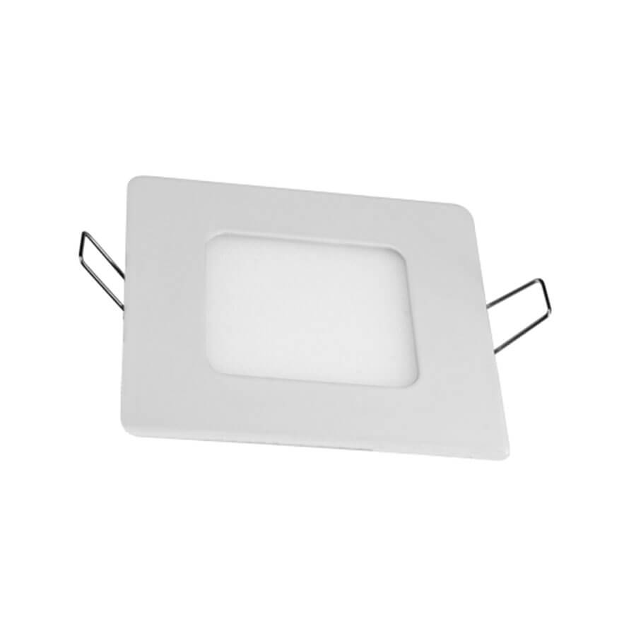 Painel LED Branco 3W Embutir Branco 18116 – Taschibra - Santa Cruz Acabamentos