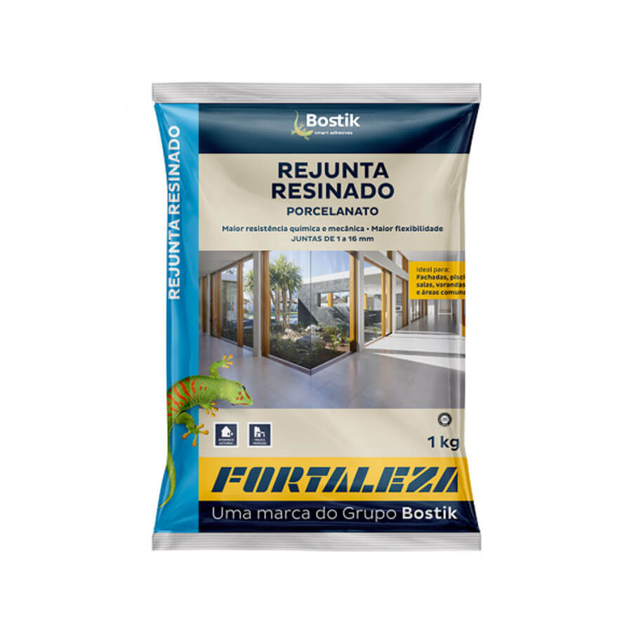 Rejunte Acrílico Interior/Exterior Café 1kg – Fortaleza - Santa Cruz Acabamentos