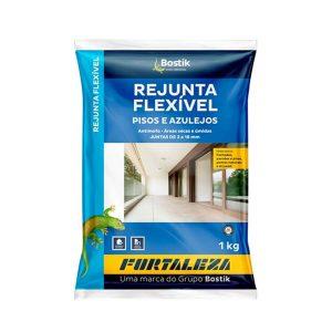Rejunte Acrílico Chocolate Interior/Exterior 1kg - Fortaleza