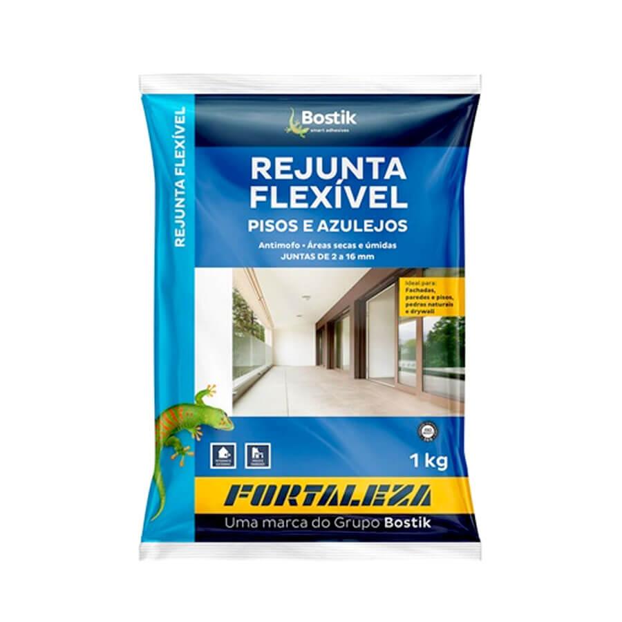 Rejunte Acrílico Chocolate Interior/Exterior 1kg – Fortaleza - Santa Cruz Acabamentos