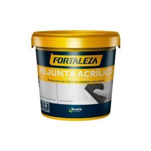 Rejunte Acrílico Platina Interior/Exterior 1kg - Fortaleza