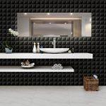 Revestimento Bril Cube AR55957 NERO 33,5X60,7 – Embramaco - Santa Cruz Acabamentos