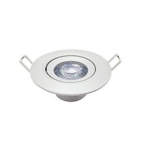 Spot de Embutir Supimpa LED Redondo 4000K Branco 5W Bivolt 863020874 - Avant