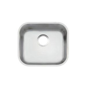 Cuba de embutir Lavínia 94020106 40 BL em aço inox acetinado 40x34 nº 1 - Tramontina