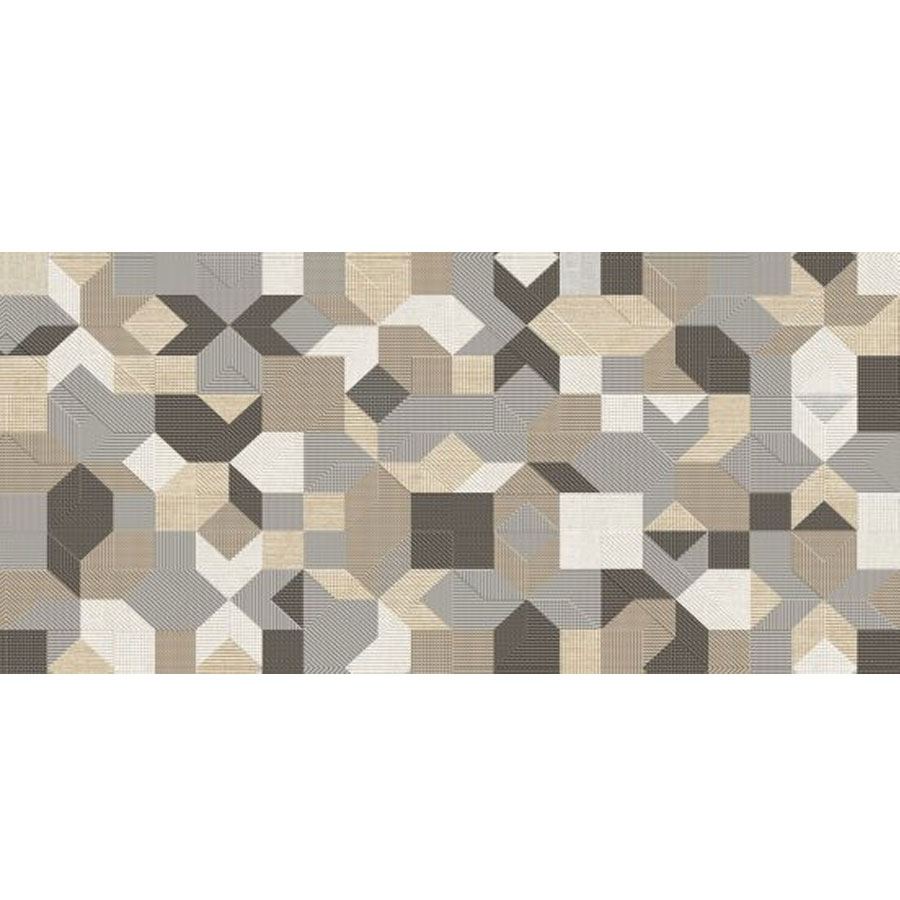 Revestimento para Parede Interna Acetinado Borda Reta Glam Decor RT46508 46x100cm – Embramaco - Santa Cruz Acabamentos