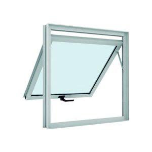 Janela de Alumínio Maxim-A Slim, com Vidro, 60x60cm 53116 - Ramassol