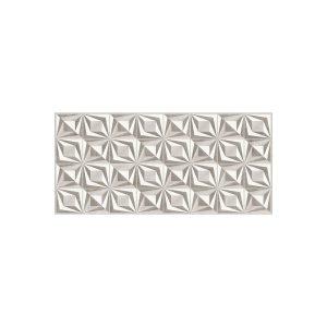 Revestimento para Parede Interna Acetinado Borda Reta Diamond Decor RT46506 46x100cm - Embramaco
